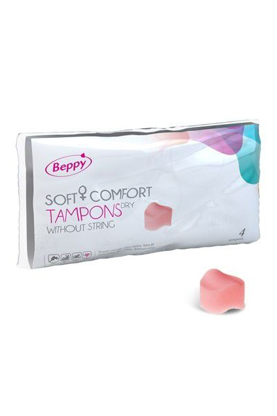 BEPPY SOFT CONFORT TAMPONS DRY X4
