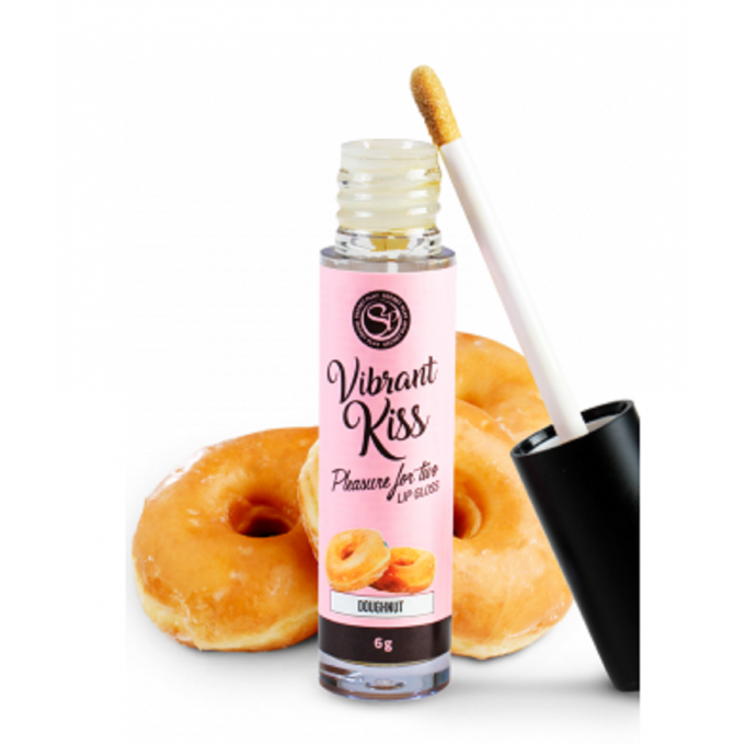LIP GLOSS KISS SENSATION BRILLANT A LÈVRES VIBRANT DONUTS