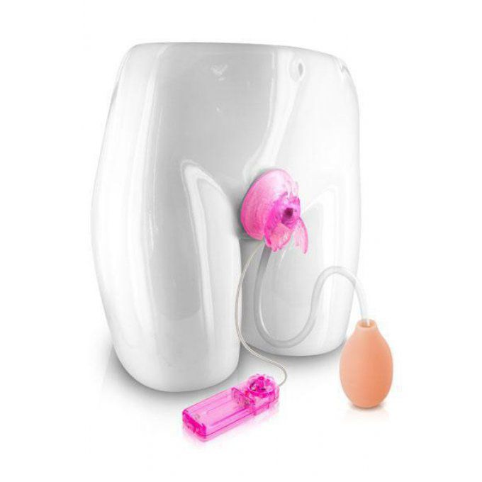 BUTTERFLY CLITORIS PUMP VIBRANTE