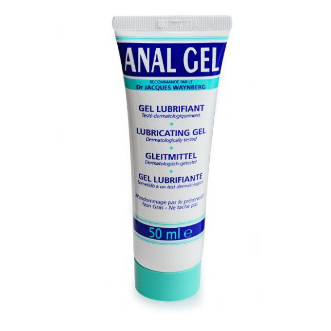 GEL LUBRIFIANT ANAL - TUBE 50ML