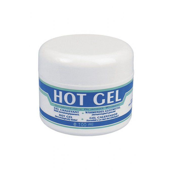 HOT GEL LUBRIFIANT POT 100ML